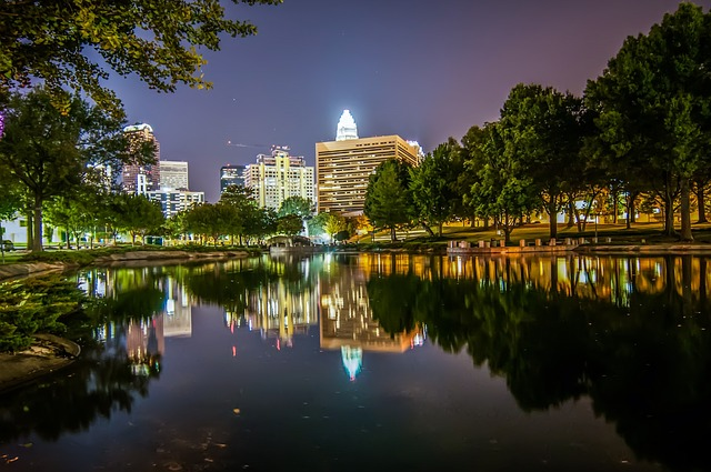 view of Uptown Charlotte